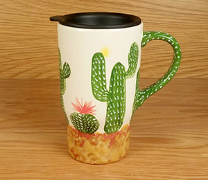 Porter Ranch Cactus Travel Mug