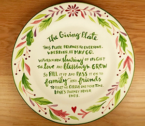 Porter Ranch The Giving Plate