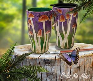 Porter Ranch Mushroom Mugs