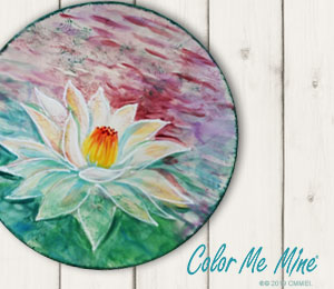 Porter Ranch Lotus Flower Plate