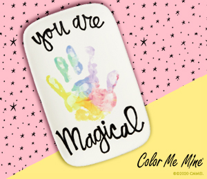 Porter Ranch Rainbow Hand-print