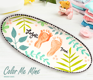 Porter Ranch Tropical Baby Tray