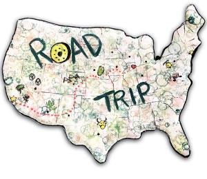 Porter Ranch Family Road Trip!