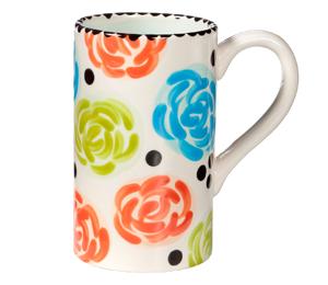 Porter Ranch Simple Floral Mug