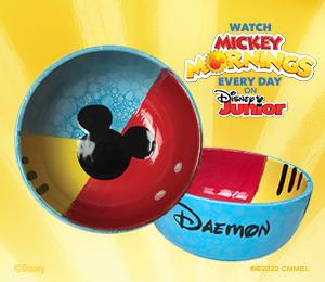 Porter Ranch Mickey's Bubble Bowl