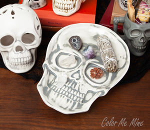 Porter Ranch Vintage Skull Plate
