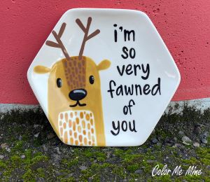 Porter Ranch Fawn Plate