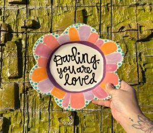 Porter Ranch Flower Plate