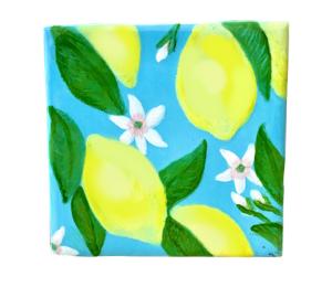 Porter Ranch Lemon Square Tile