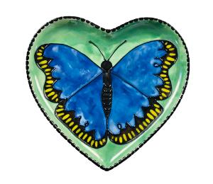 Porter Ranch Butterfly Plate